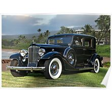 1933 Packard Super 8 Sedan Poster