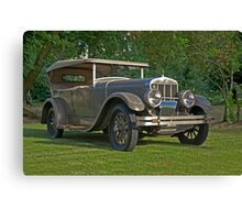 1926 Franklin Sport Touring Series 11 A Canvas Print