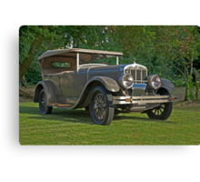 1926 Franklin Sport Touring Series 11 A Canvas Print