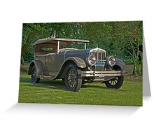 1926 Franklin Sport Touring Series 11 A Greeting Card