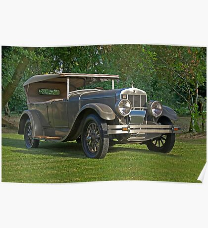 1926 Franklin Sport Touring Series 11 A Poster