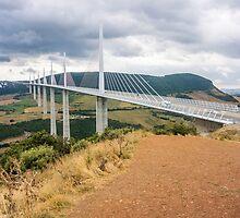 Millau Bridge by Sue Martin