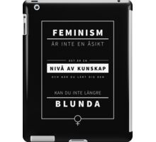 KUNSKAP #2 - [swedish] iPad Case/Skin