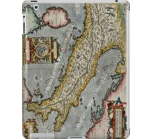 Vintage Map of Italy (1584)  iPad Case/Skin