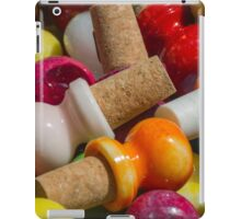 bottle caps iPad Case/Skin