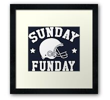HAVE A FUNDAY IN SUNDAY Framed Print