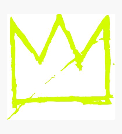 Crown (Green) Photographic Print