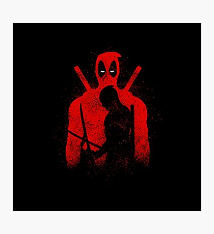 Redhood Hero Photographic Print