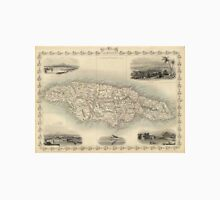 Vintage Map of Jamaica (1851) Unisex T-Shirt
