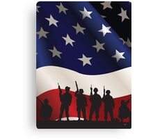 USA PATRIOT Canvas Print