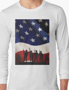 USA PATRIOT Long Sleeve T-Shirt