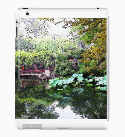 Nature's Mirror, Photo / Digital Painting  iPad Case/Skin