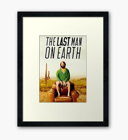 Last Man on Earth Framed Print