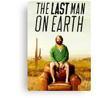 Last Man on Earth Canvas Print