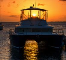 Caribbean Sunset Sticker