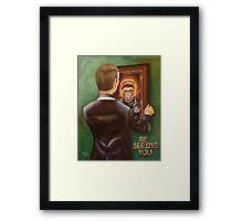 A Free Man Framed Print