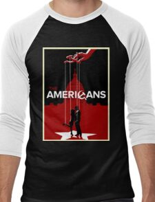 Americans Men's Baseball ¾ T-Shirt