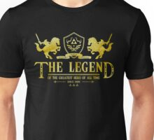 The Legend of the Greatest Hero of all Time Unisex T-Shirt