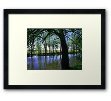 A Place ! Framed Print