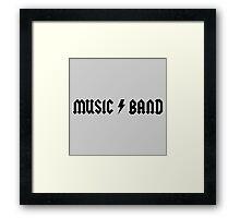 30 Rock Steve Buscemi Music Band Framed Print