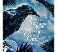 The Raven King - All Fire Photographic Print