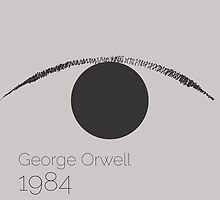 1984 - George Orwell  by sophieresia