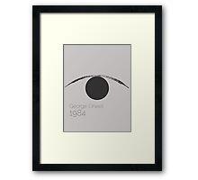 1984 - George Orwell  Framed Print