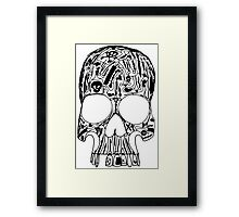 Surgical Skull Framed Print
