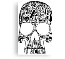 Surgical Skull Canvas Print