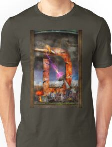 Steampunk - Alphabet - D is for Death Ray Unisex T-Shirt