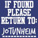 If Found, Please Return to Jotunheim by rexannakay