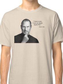 Apple pen steve jobs Classic T-Shirt