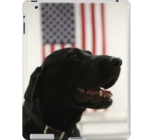 All-American Black Labrador iPad Case/Skin