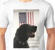 All-American Black Labrador Unisex T-Shirt