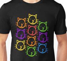 Neon cats Unisex T-Shirt