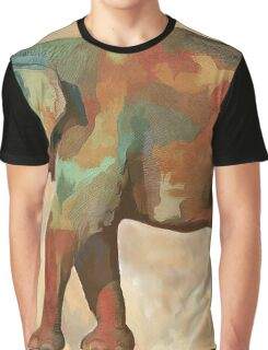 Elephant in color Graphic T-Shirt