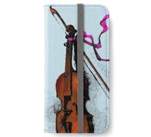 Violin & Ribbon iPhone Wallet/Case/Skin