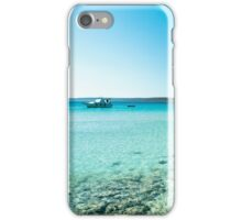 summer day in Croatia iPhone Case/Skin