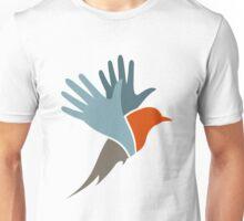 Bird a hand Unisex T-Shirt