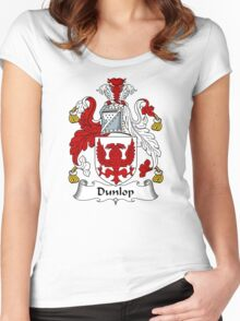 Dunlop Coat of Arms / Dunlop Family Crest Women's Fitted Scoop T-Shirt