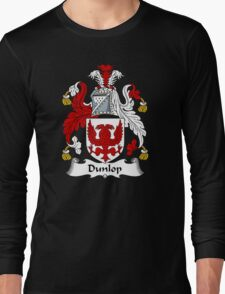 Dunlop Coat of Arms / Dunlop Family Crest Long Sleeve T-Shirt