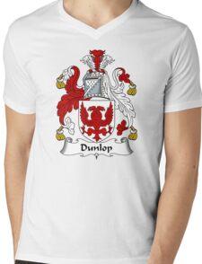 Dunlop Coat of Arms / Dunlop Family Crest Mens V-Neck T-Shirt