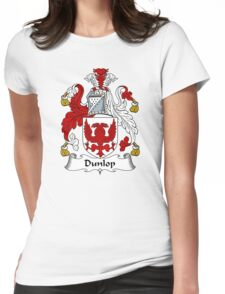 Dunlop Coat of Arms / Dunlop Family Crest Womens Fitted T-Shirt