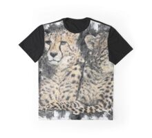 Cheetah Siblings Graphic T-Shirt