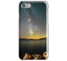 Milky way in the sky of Croatia iPhone Case/Skin