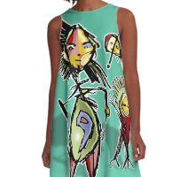 birth A-Line Dress