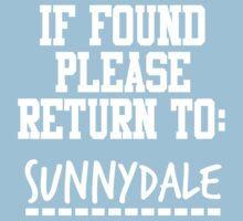 If Found, Please Return to Sunnydale One Piece - Short Sleeve