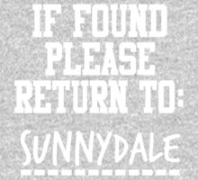 If Found, Please Return to Sunnydale One Piece - Long Sleeve