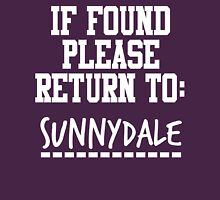 If Found, Please Return to Sunnydale Unisex T-Shirt