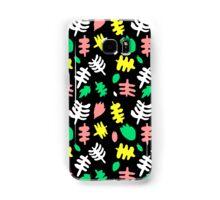 Paradise Tropic black Samsung Galaxy Case/Skin